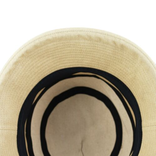 BLACK HORN Ladies Denim style Packable Women/'s Wide Brim Sun Bucket Hat Collete