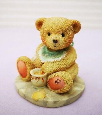 1991 Vintage Cherished Teddies-benji-teddy Figurina-mostra Il Titolo Originale Prestazioni Superiori