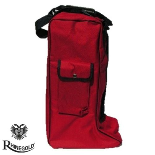 ideal for Yard Storage 4 great colours Travelling Rhinegold Long Boot Bag