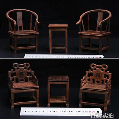 HOT FIGURE TOYS 1//6 Scene Furniture Model Accessories Wooden tables and chairs