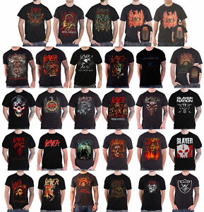OFFICIAL LICENSED SLAYER SOLDIER CROSS T SHIRT THRASH METAL