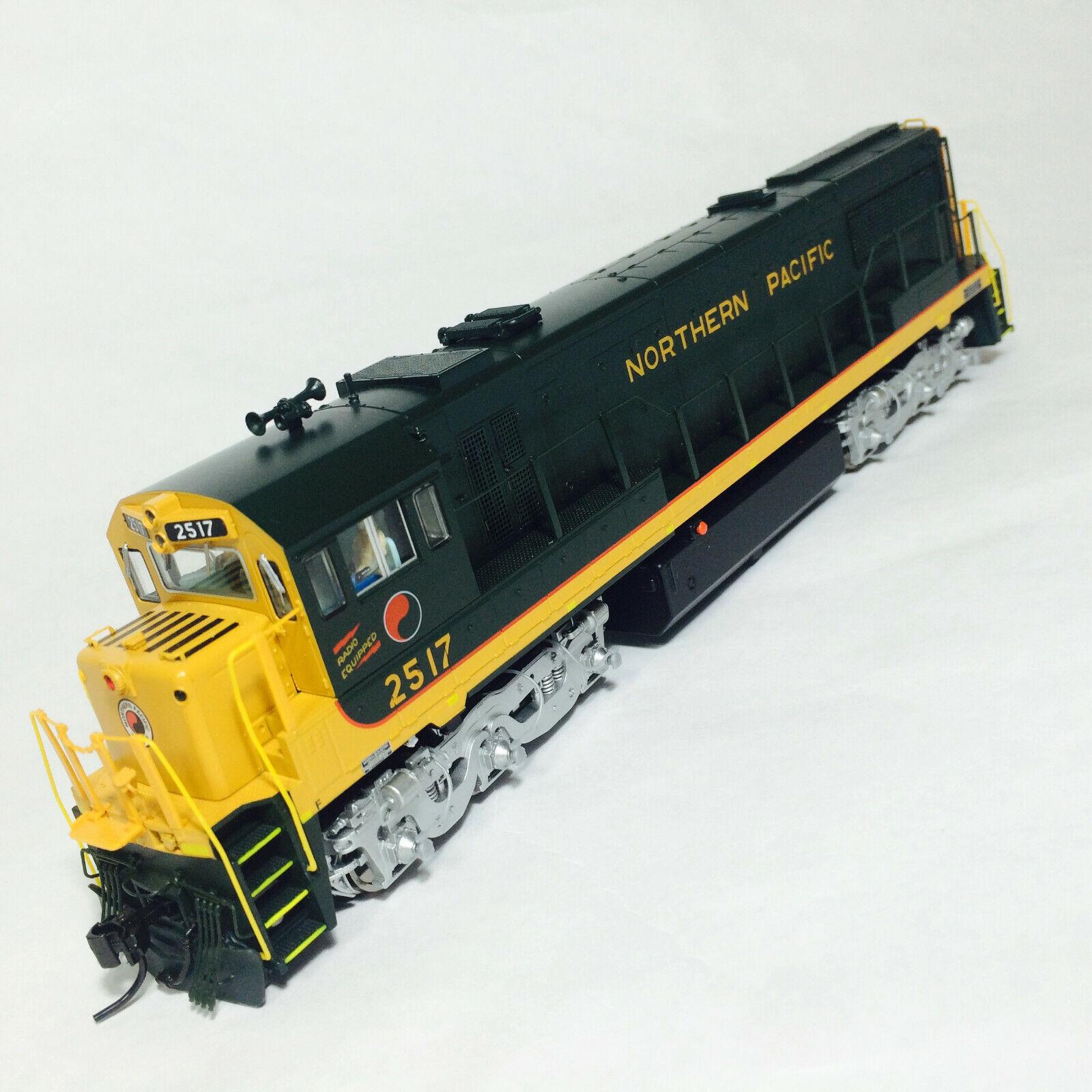 Korea Brass HO 1//87 Scale GE U25C U252011 Northern Pacific #2516 DC Model Train