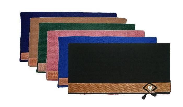 Mayatex Corona Wool Saddle Blanket