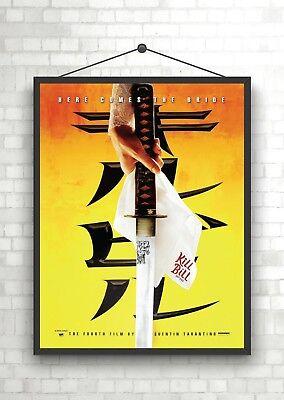 Kill Bill Classic Movie Poster Print A0 A1 A2 A3 A4 Maxi