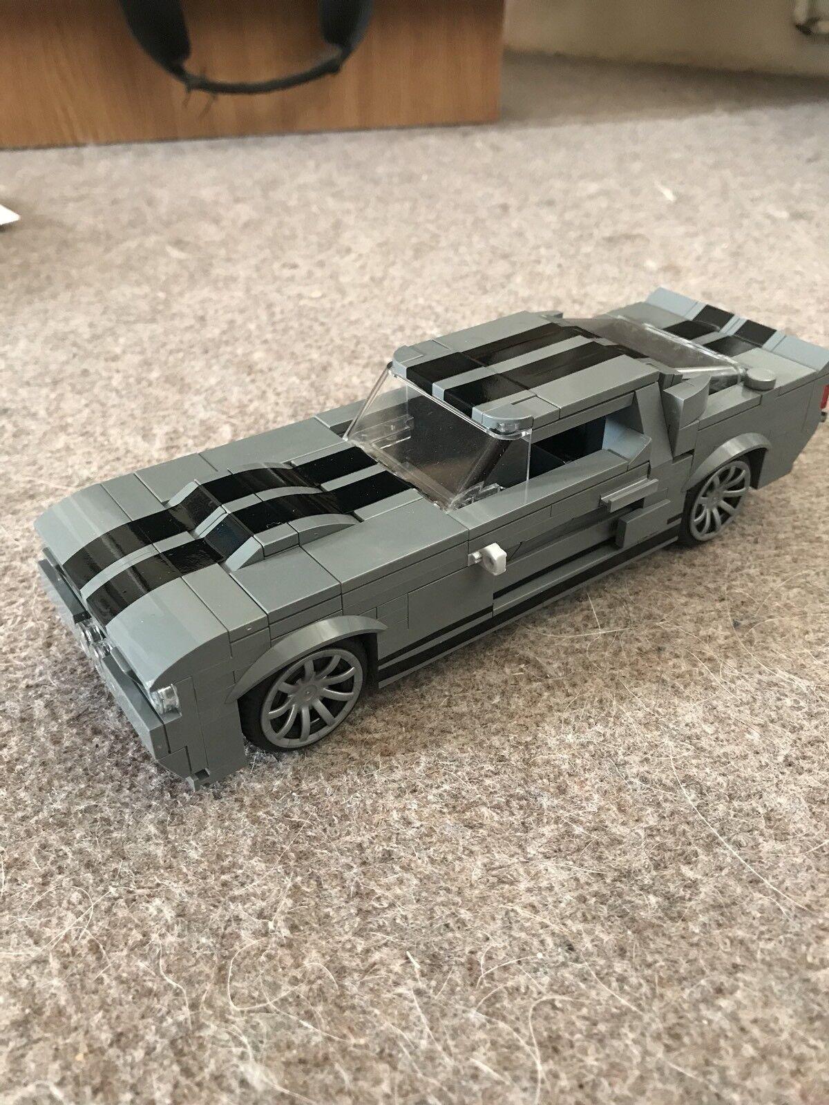Eleanor Custom Built LEGO Mustang 67 GT500...