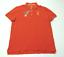 JCPenney-para-hombre-Talla-Mediana-Camisa-Polo-de-malla-de-color-naranja-NUEVO miniatura 2