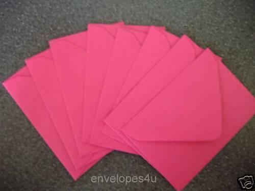 50 Cerise//Fucsia Rosa C7 Sobres-Bodas-Invitaciones-saludo 100gsm