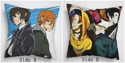 Bungou Stray Dogs Chuuya Anime Manga two sides Pillow Cushion Case Cover 871