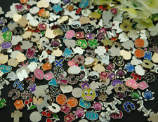 50PCS mix floating charm fit Origami owl glass memory locket accessories p4