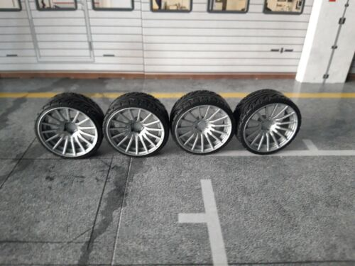 1//18 Scale ENKEI RS05RR CONCAVE 19INCH TUNING WHEELSET Multiple colours !!