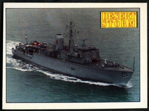 HMS Quorn #56 Desert Storm 1991 Merlin Sticker C959