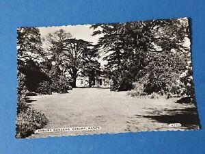Vintage-Real-Photo-Black-amp-White-Hampshire-Postcard-Exbury-Gardens-DD4