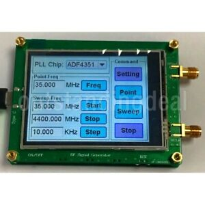ADF4351-35M-4-4G-RF-Signal-Generator-PLL-Sweep-Frequency-Generator-Touch-Screen