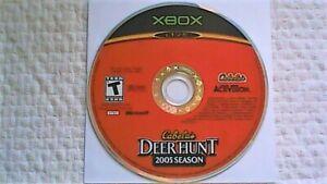 Cabela's Deer Hunt: 2005 Season (Microsoft Xbox, 2004)