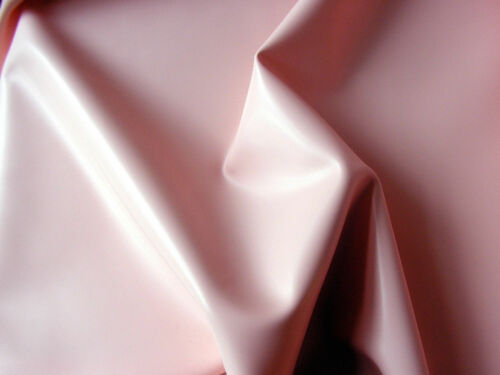 Latex Rubber 0.33mm Thick 92cm Wide Baby Pink