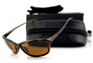 6c0e935cdbd77 POLARIZED New OAKLEY SHE S UNSTOPPABLE Tortoise Bronze Sunglasses OO ...