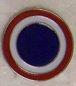 Hat-Lapel-Push-Tie-Tac-Pin-WW2-1rst-Corps-Pacific-NEW