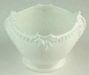 Sugar-Bowl-Coalport-Countryware-vintage-embossed-white-bone-china-England