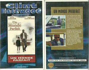 K7 Video Un Monde Parfait Avec Kevin Costner Clint Eastwood Ebay
