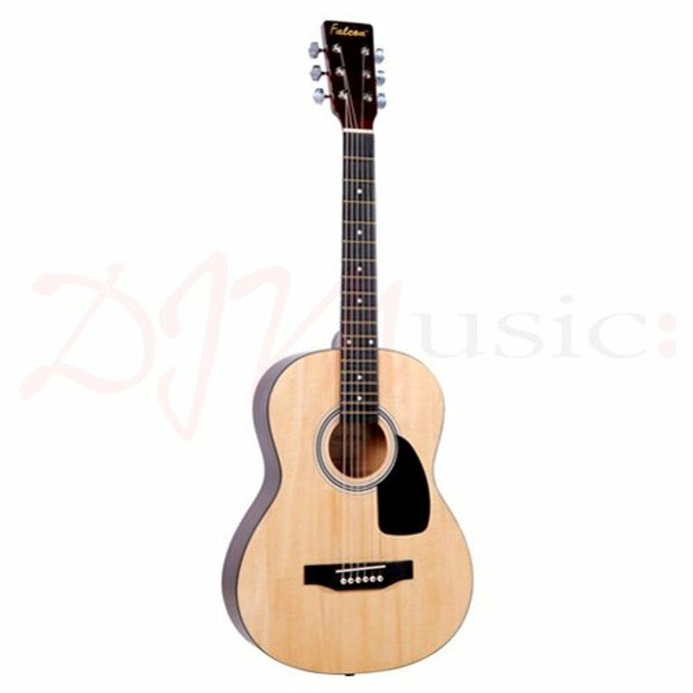 FALCON F200N STEEL-STRUNG 36  FOLK ACOUSTIC GUITAR NATURAL FINISH - BRAND NEW