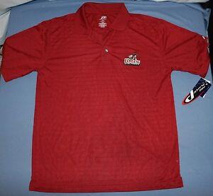 Universidad-de-MASSACHUSETTS-Minutemen-Polo-Estilo-Camisa-Talla-M-NWT-Hombres