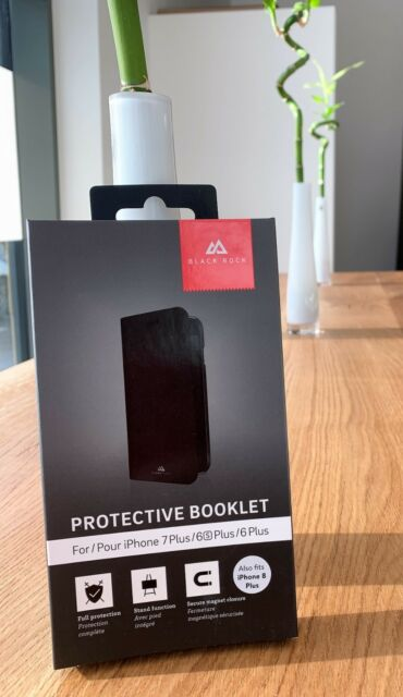 Black Rock - Protective Booklet - für iPhone 6 Plus / 6s Plus / 7 Plus