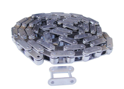 #C2062HSS Heavy Duty Stainless Steel Roller Chain 10 Feet with 1 Connecting Link