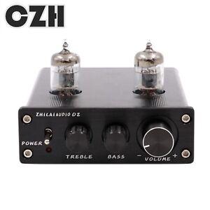 TUBE PREAMP ZHILAI MINI Stereo 6J1 Valve Audio Preamplifier Bass