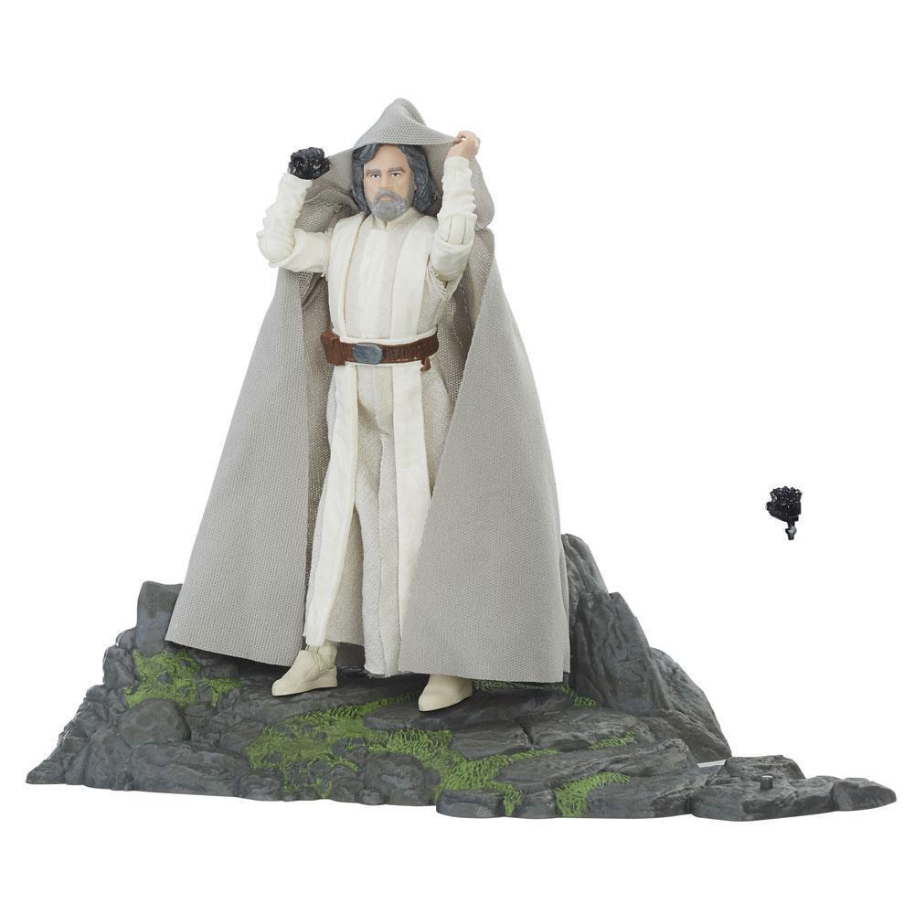 Action Figure Star Wars nero Series Luke Skywalker Ahch-To Island Hasbro (Neuf)
