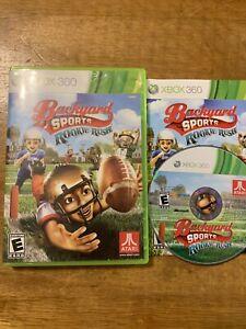Backyard Sports Football: Rookie Rush - Xbox 360 Complete ...