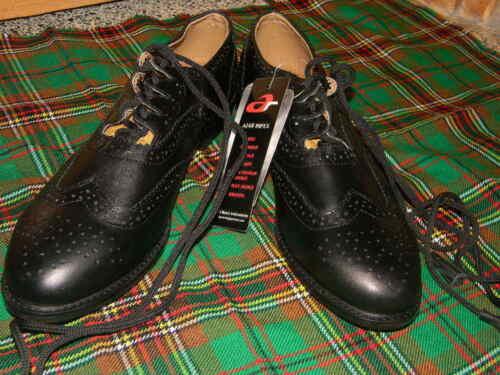 Ghillie Brogue Schottisch Kilt Schuhe Ghillie Brogue Leder UK Größen 7-12