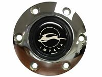 Chevy Impala Emblem With A Volante S6 Chrome Horn Button