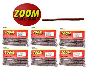 "Zoom Mag Trick Worm 7"" Green Pumpkin Red"