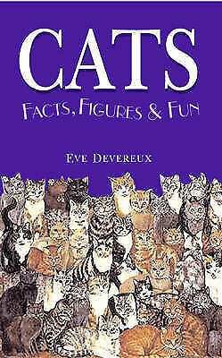1 of 1 - (Good)-CATS: Facts, Figures and Fun (Facts, Figures & Fun) (Hardcover)-Eve Dever