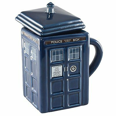 Keks oder Eis 26 cm Groß neu Doctor Who Tardis Dose