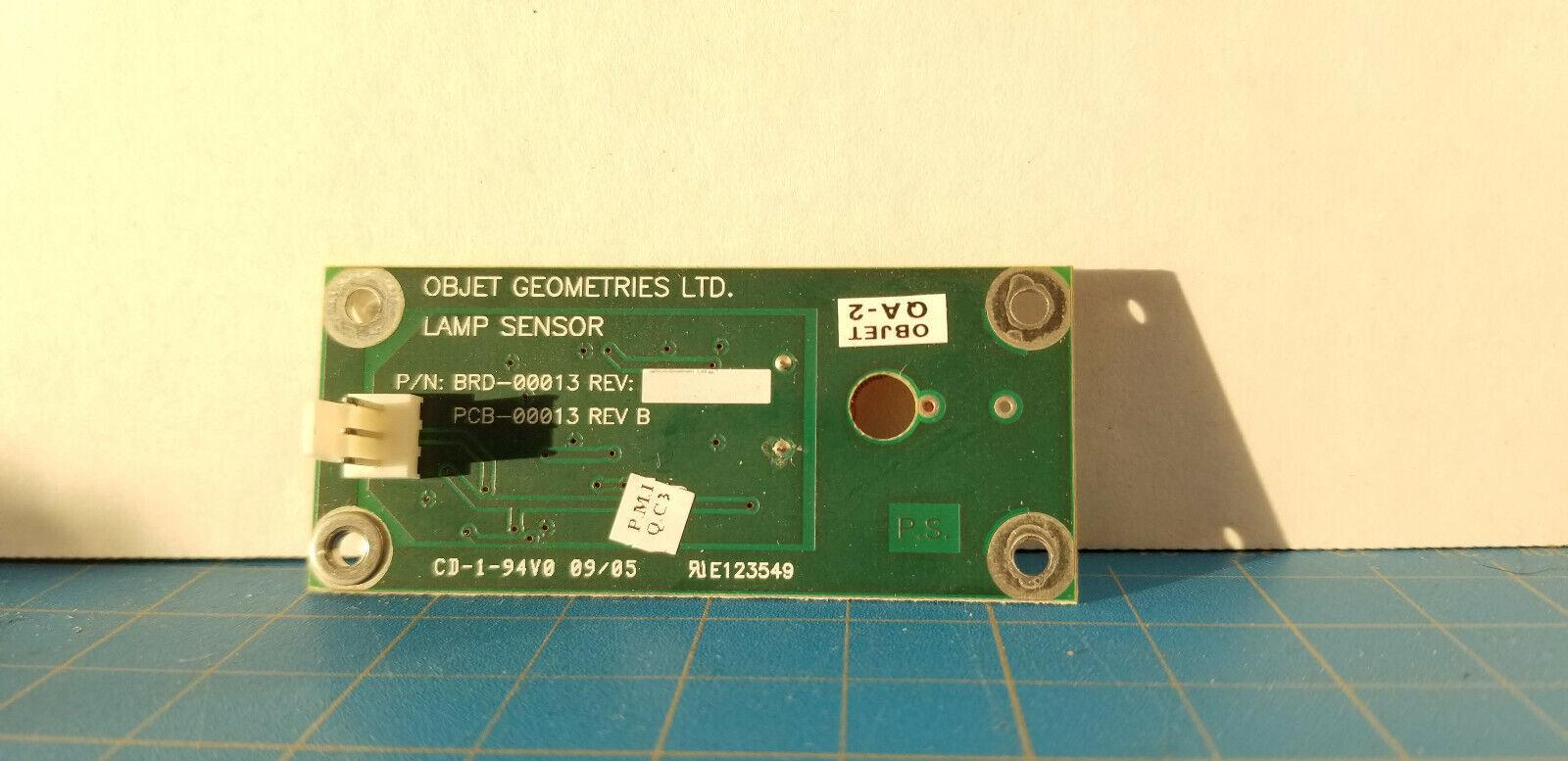 Stratasys Objet Eden 333 Parts - Objet Geometries - Lamp Sensor