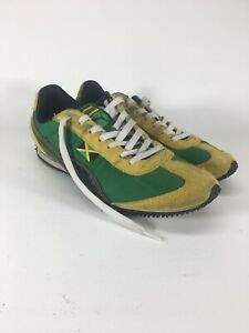 80dc2826c42 ... puma shoes jamaica Men Puma Jamaica green yellow canvas athletic ...