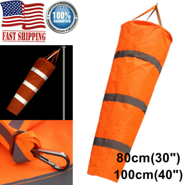 Windsock Reflective Outdoor for Airport Garden Lawn Wind Sock Bag Flag