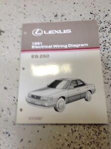 1991 Lexus Es250 Es 250 Electrical Wiring Diagram Manual Ewd Evtm. Is Loading 1991lexuses250es250electricalwiringdiagram. Lexus. Electrical Wiring Diagram Lexus Is 250 At Scoala.co