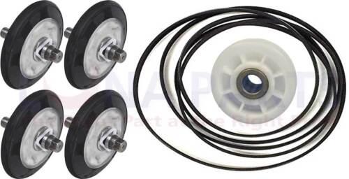 4581EL2002C  4560EL3001A 4400EL2001F DRYER DRUM ROLLER BELT PULLEY KIT FOR LG