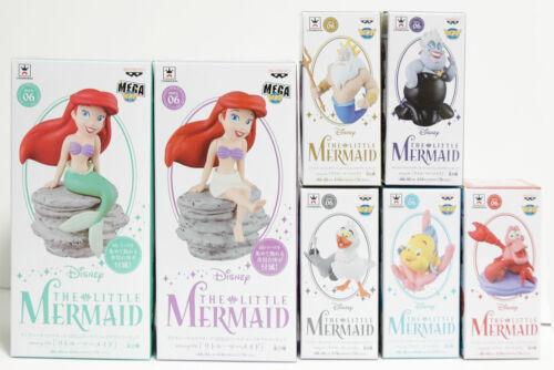 Banpresto Disney World Collectable Figure Little Mermaid Ariel All Characters