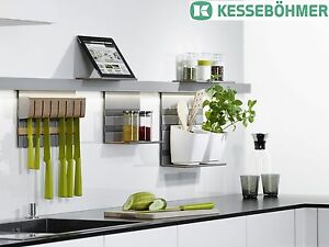 Beau Image Is Loading Kessebohmer Mosaiq Railing Bar Kitchen Rail Rail System