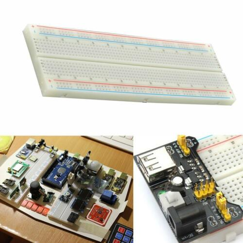102 Breadboard 830 Point Solderless Prototype PCB Board Kit for Arduino H2E5