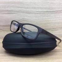 Emporio Armani EA 3037 Eyeglasses Frames Matte Brown 5260 Authentic 54mm