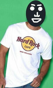 Hard-Rock-Cafe-New-ORLEANS-Classic-HRC-Logo-Tee-T-Shirt-Men-039-s-Size-LARGE-New-Tag