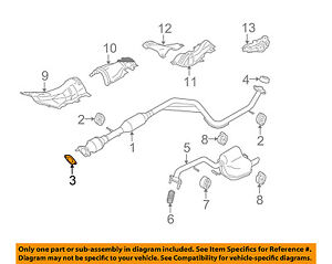 mazda oem 10 13 3 2 0l l4 exhaust converter pipe gasket lf0740305a rh ebay com GM 2.0L Turbo Engine GM 2.0L Turbo Engine