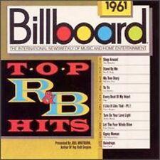 Billboard Top R&B Hits: 1961 by Various Artists (CD, Apr-1989, Rhino (Label))