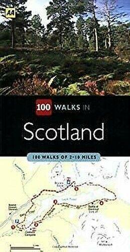 Schottland: 100 Walks Von 2-10 Meilen Taschenbuch Aa Verlag