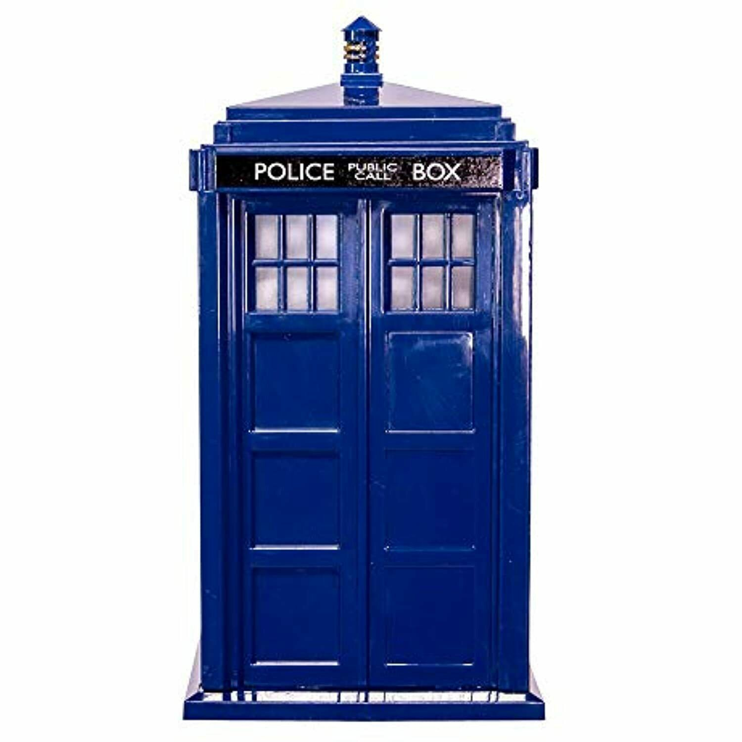 Dr Who Tardis Tree Topper Battery Operated Christmas Decor Bbc Dw9161 For Sale Online Ebay