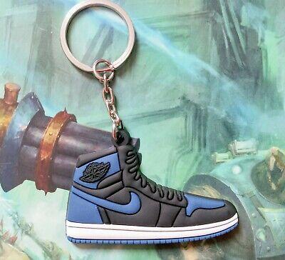 BRED NIKE AIR Jordan 1 mini keyring keychain sneaker BRAND NEW